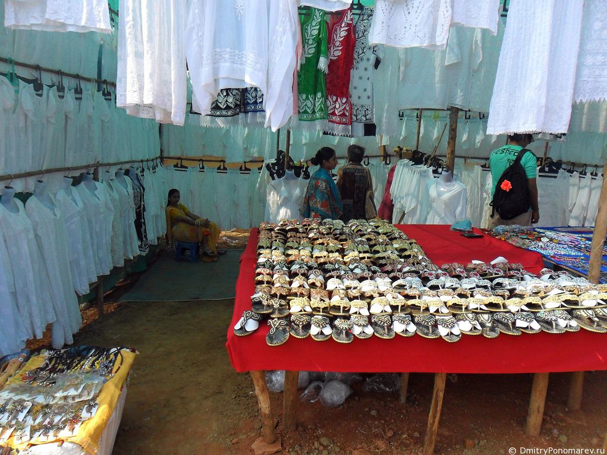 Анджуна.Рынок в Гоа. Индия