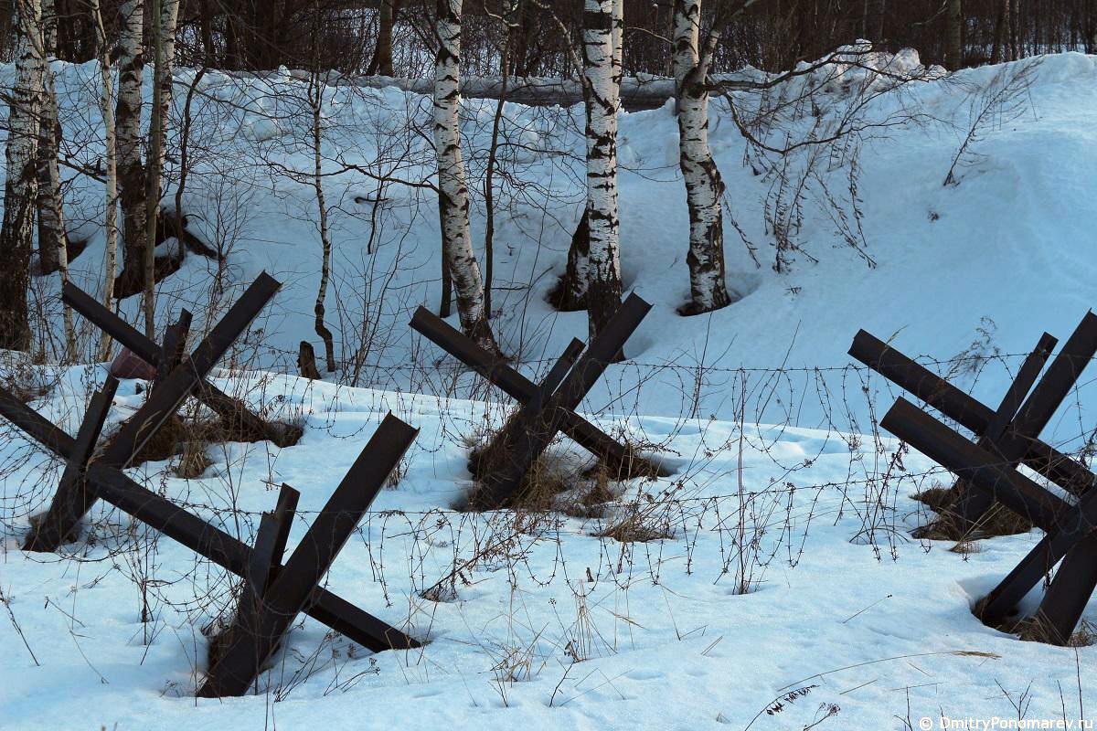 Горьковский рубеж обороны. Катунки