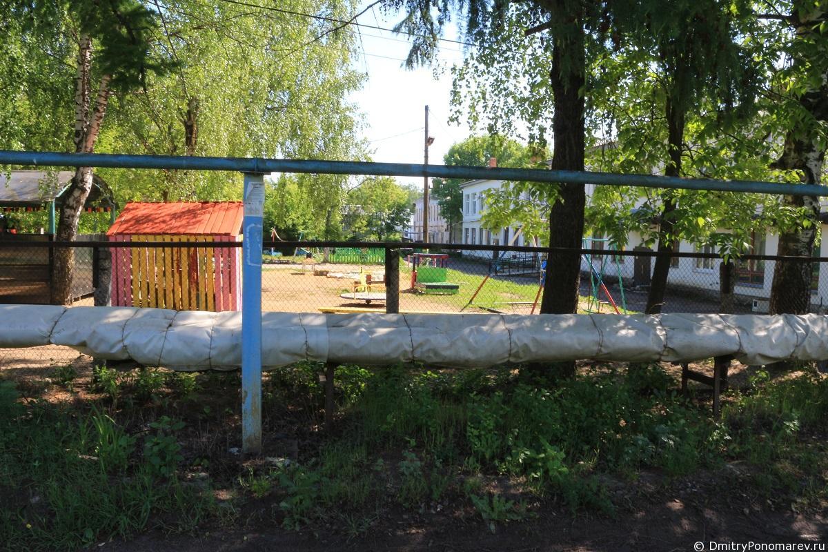 Чкаловск.Дворы