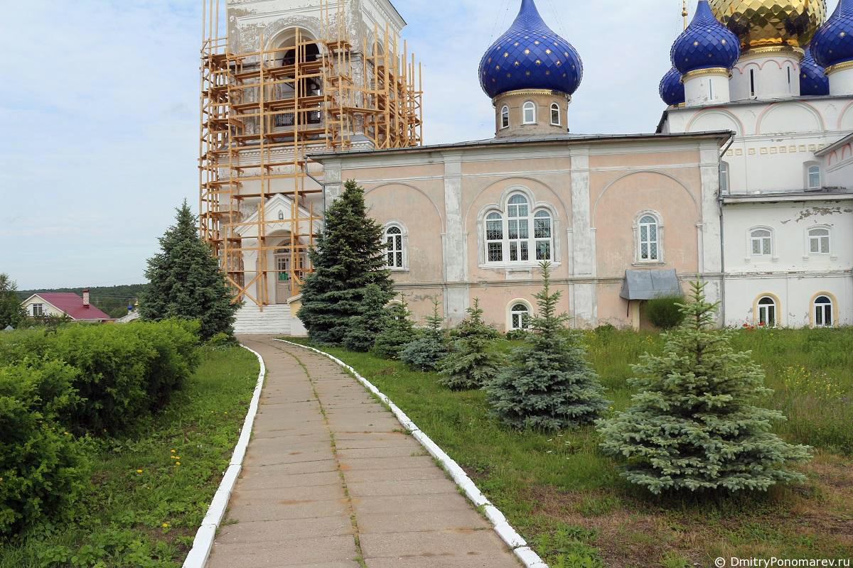 Спасо-Преображенская церковь. Пурех