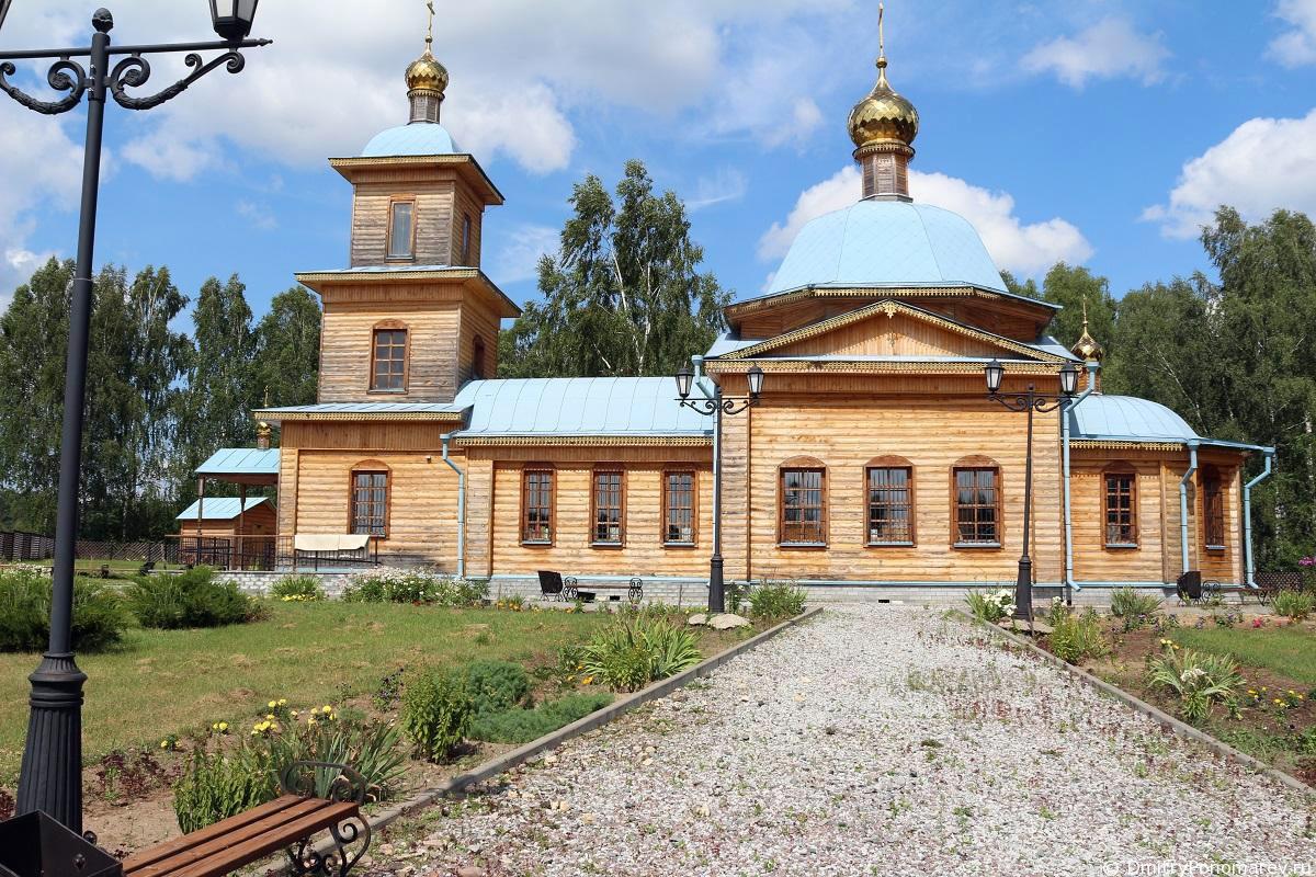 Храм во имя Казанской иконы Божией Матери в селе Гореве