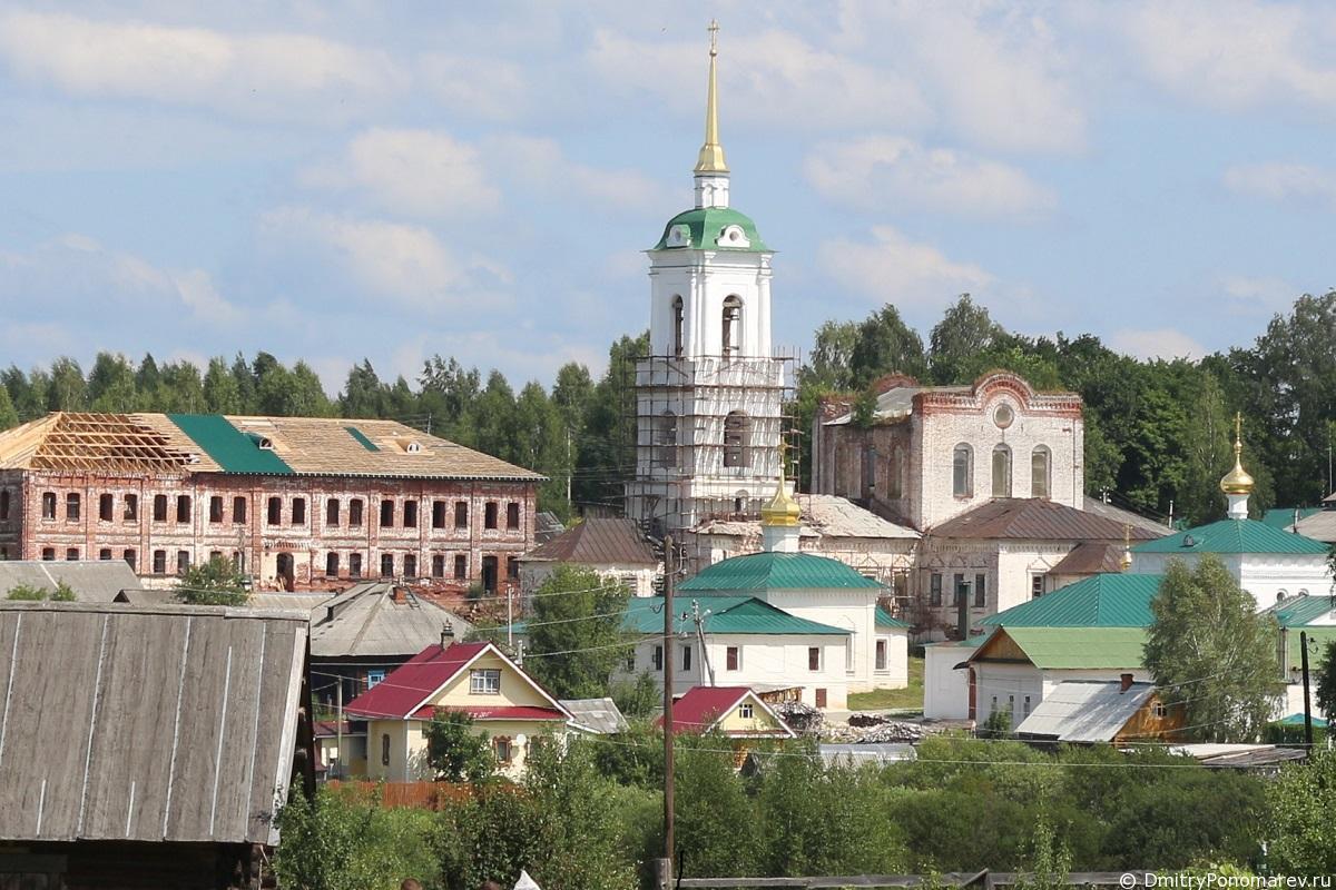 Троицкий женский монастырь. Село Белбаж