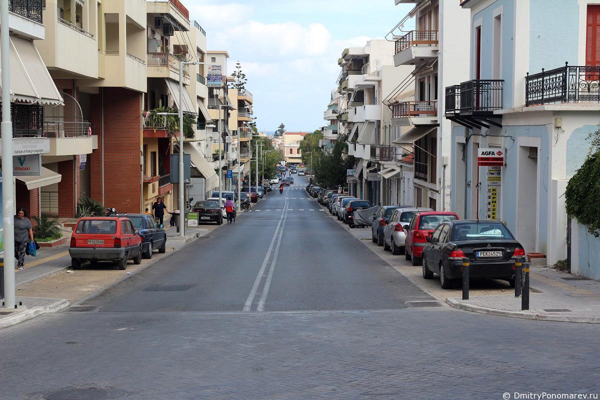 Прогулка по Ретимно. Новый город. (часть 3)