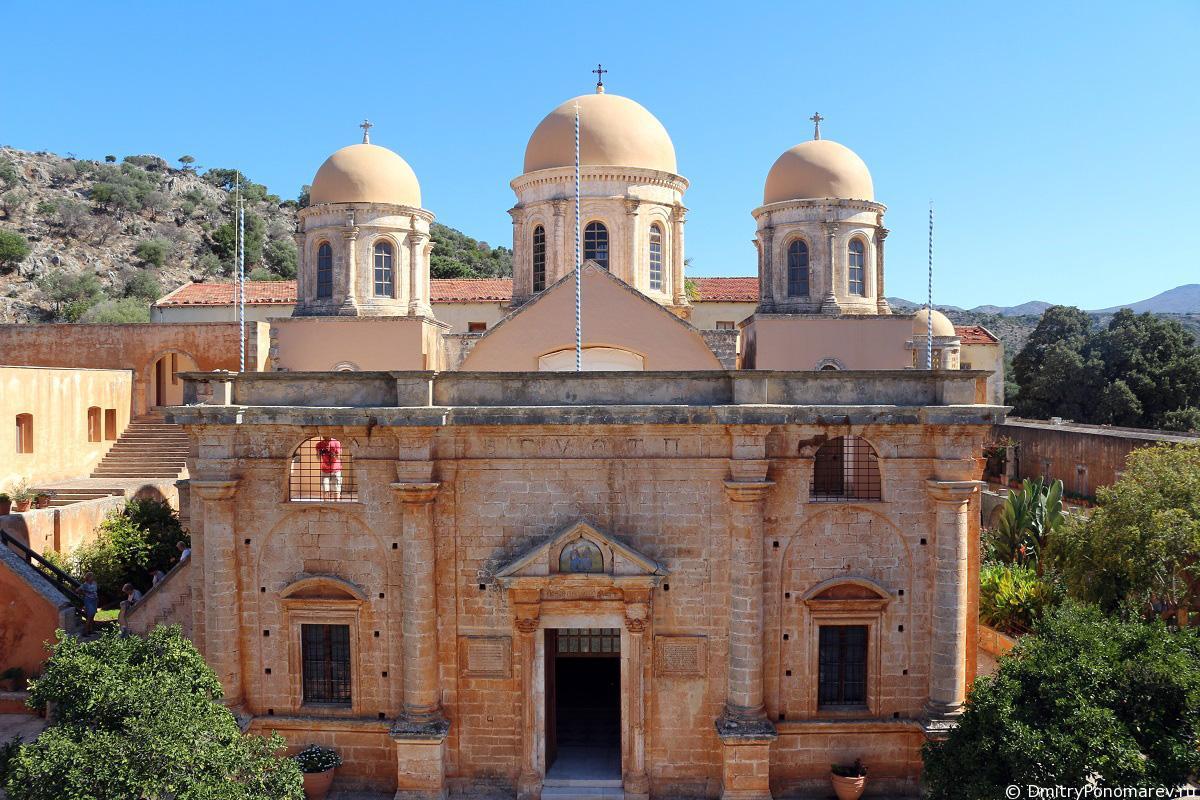 Монастырь Святой Троицы Цагаролон