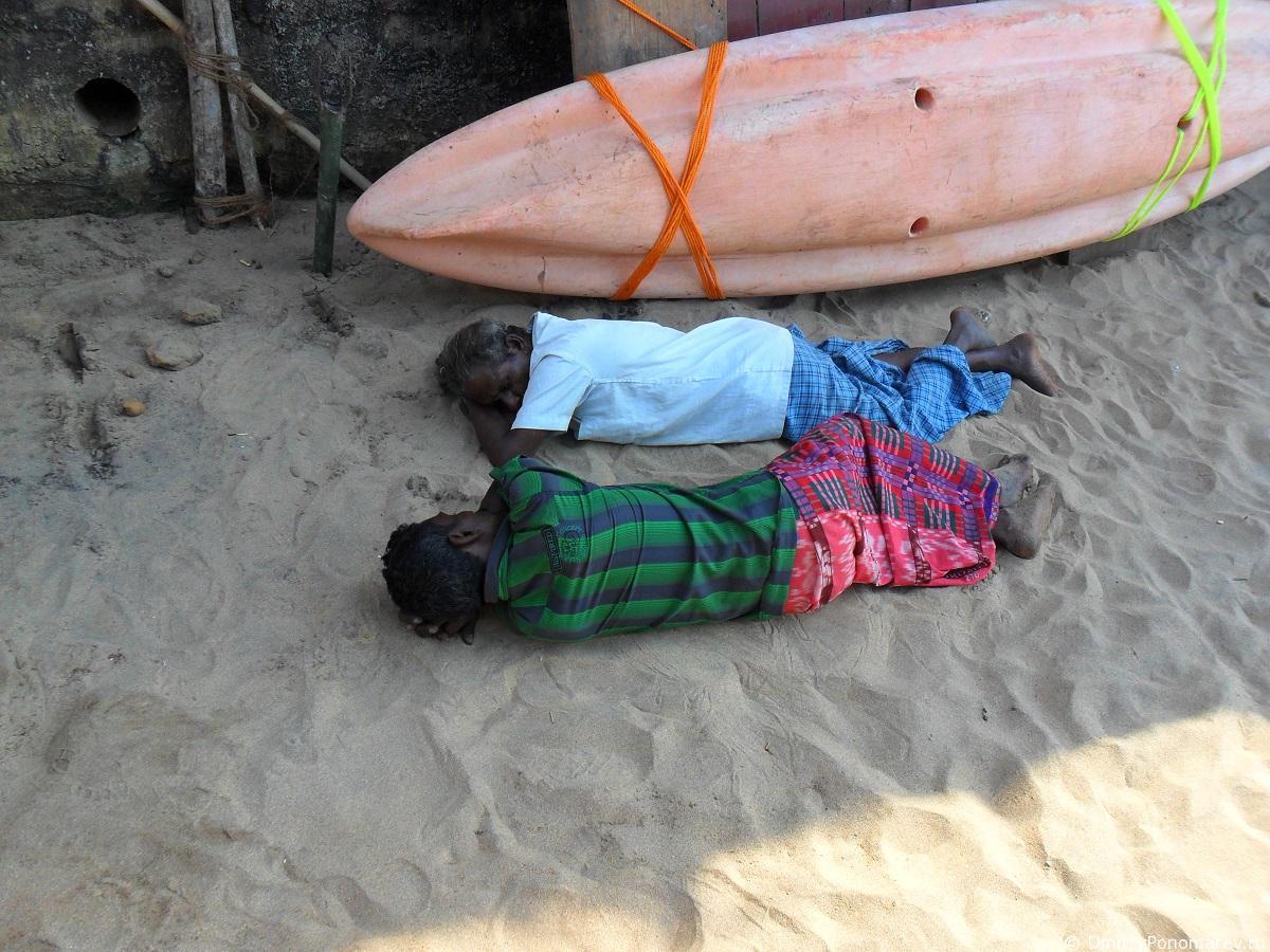 Анжуна (Anjuna). Пляж Индия