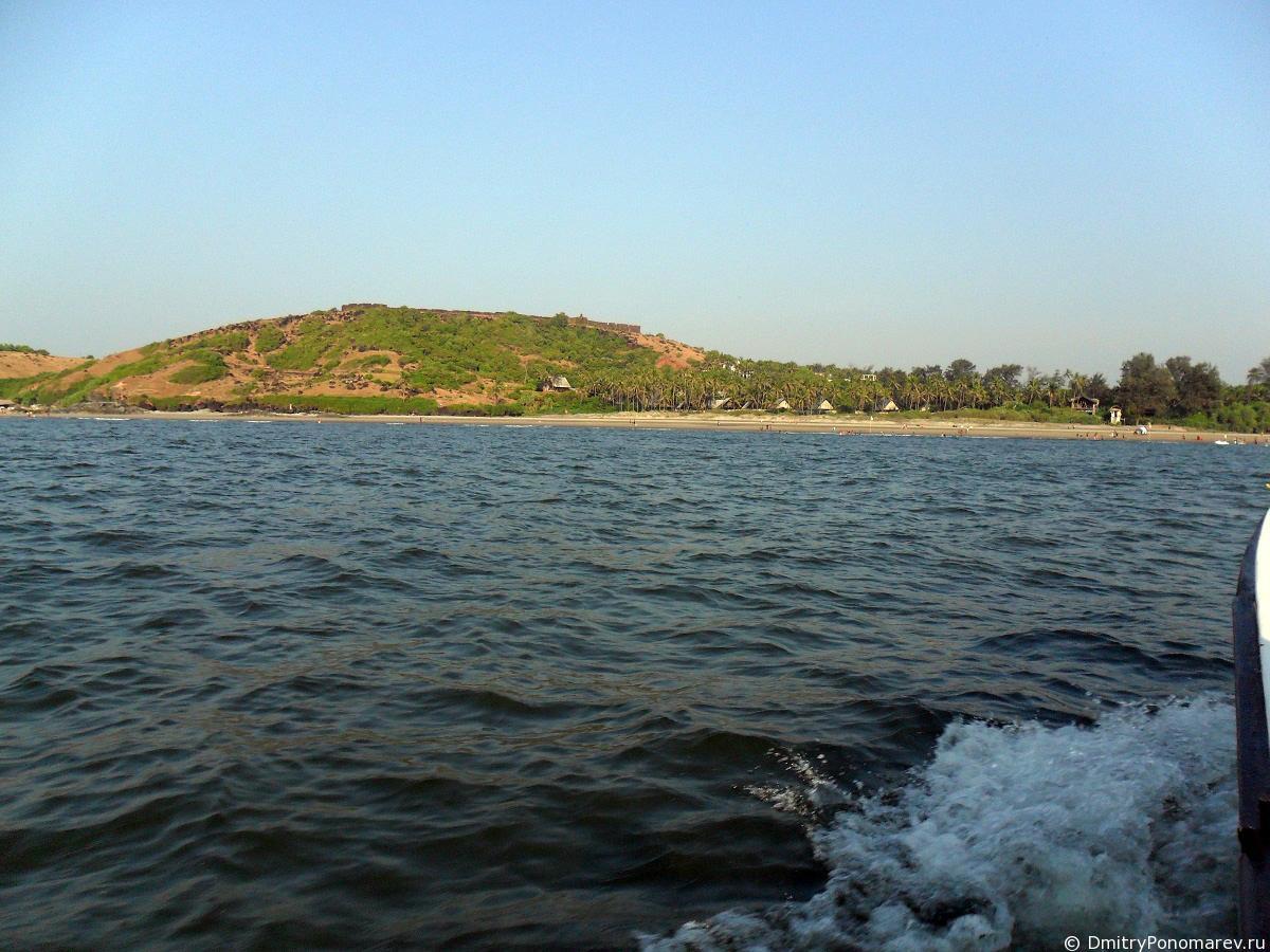 Вагатор (Vagator). Пляж Индия