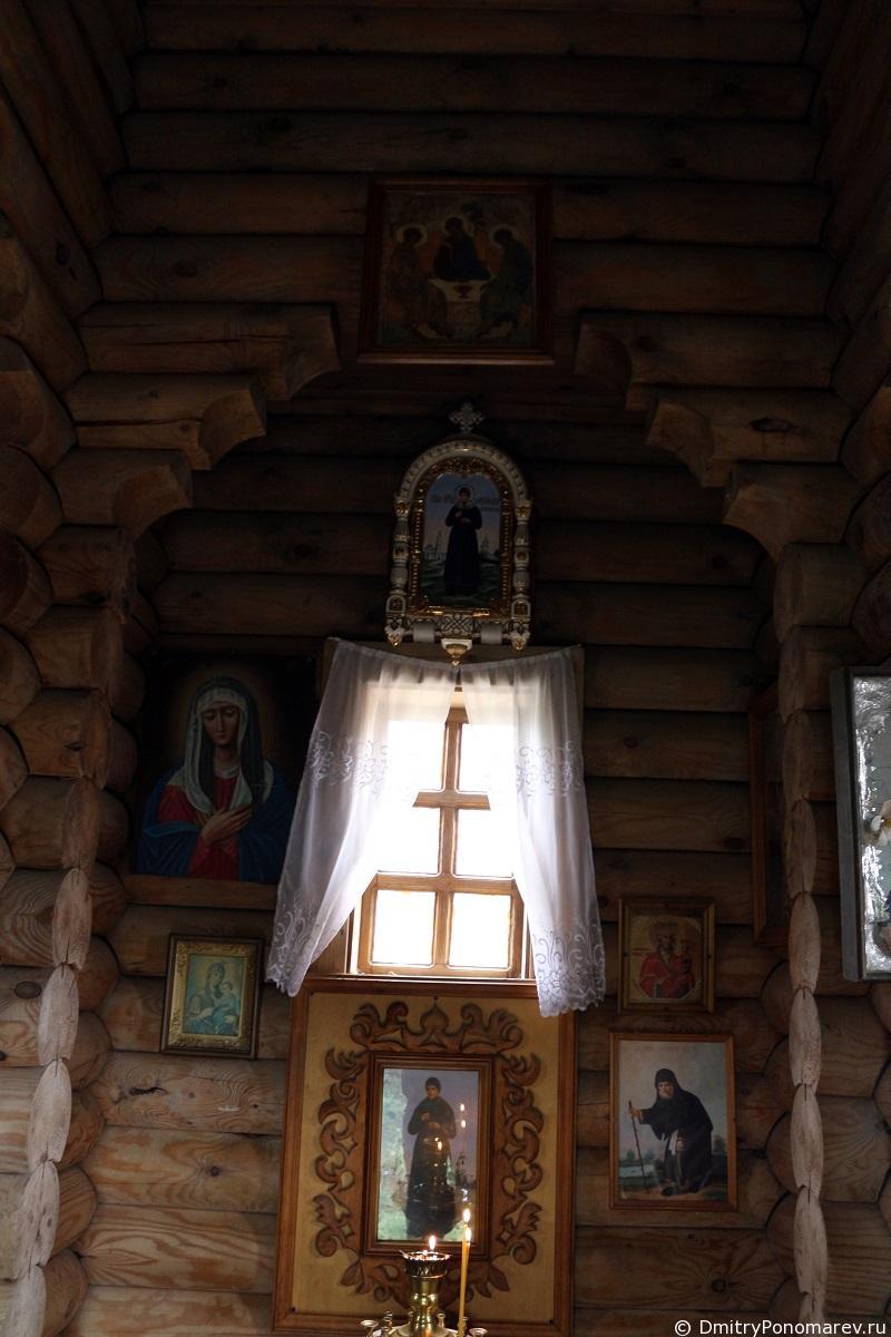 Источник преподобной Александры в Дивеево