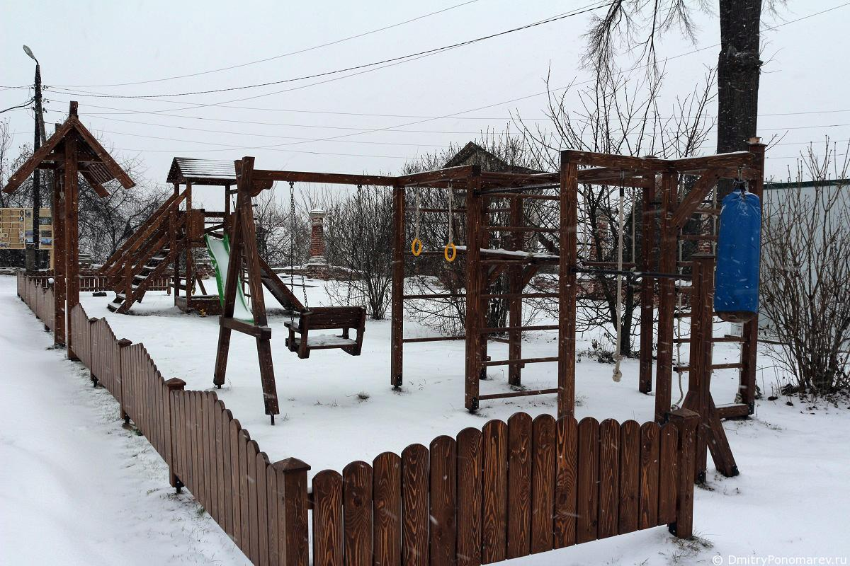 Храмовый комплекс в селе Николо-Погост. Городец