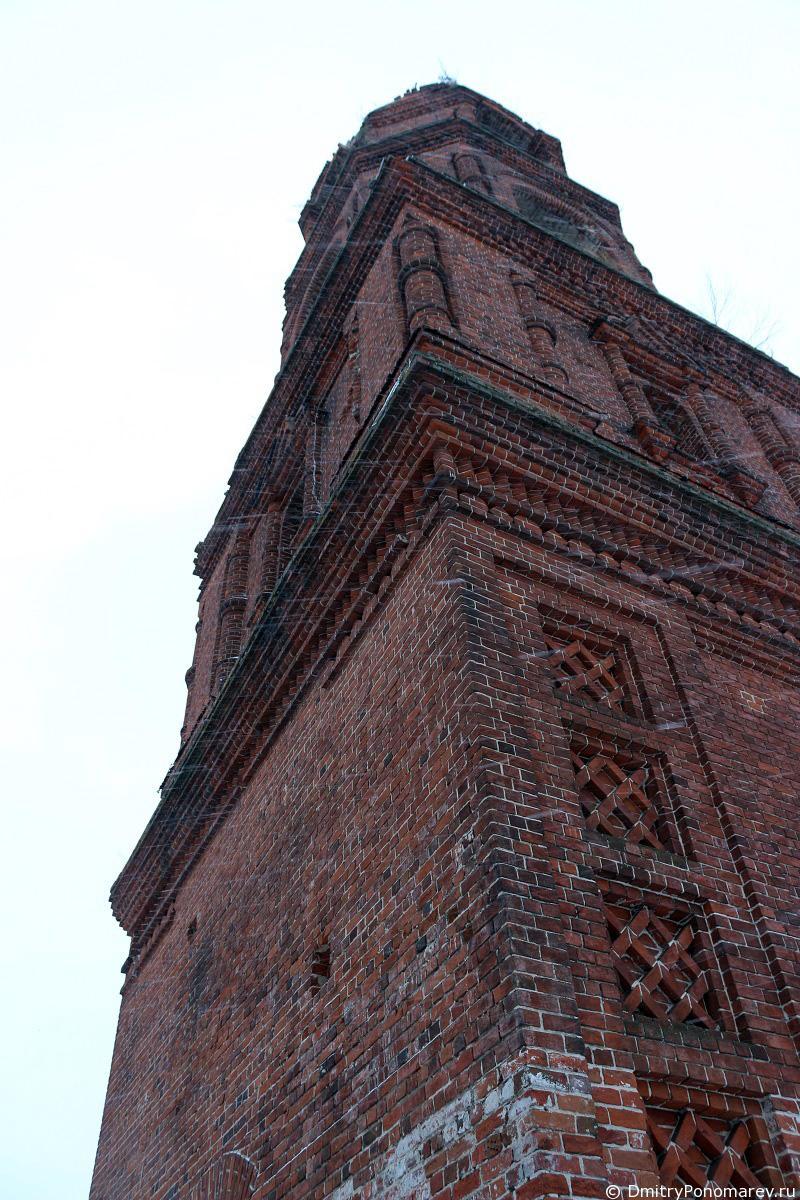 церковь Вознесения Господня в Зарубино